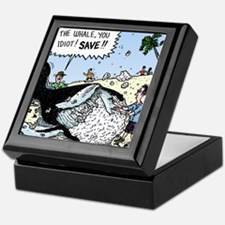 Save the Whale Keepsake Box