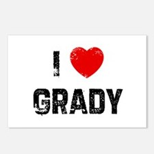 I * Grady Postcards (Package of 8)