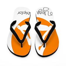 yoga instructor 4 Flip Flops