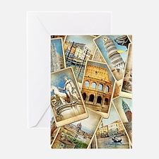 60x84_Curtain16 Greeting Card