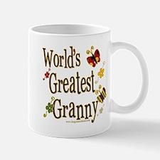 Granny Butterflies Mug