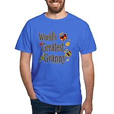 Granny Butterflies T-Shirt