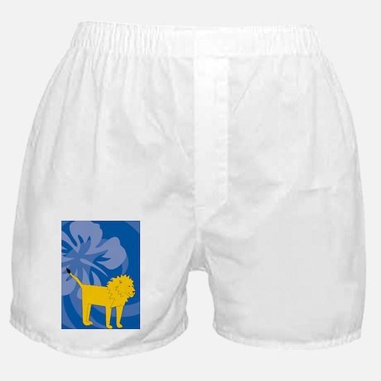 Lion Clipboard Boxer Shorts