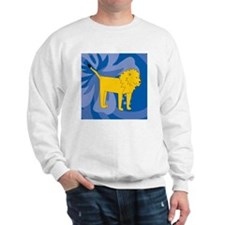Lion Cloth Napkins Sweatshirt