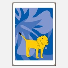 Lion 84 Curtains Banner