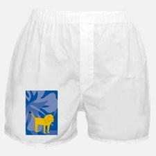 Lion 84 Curtains Boxer Shorts