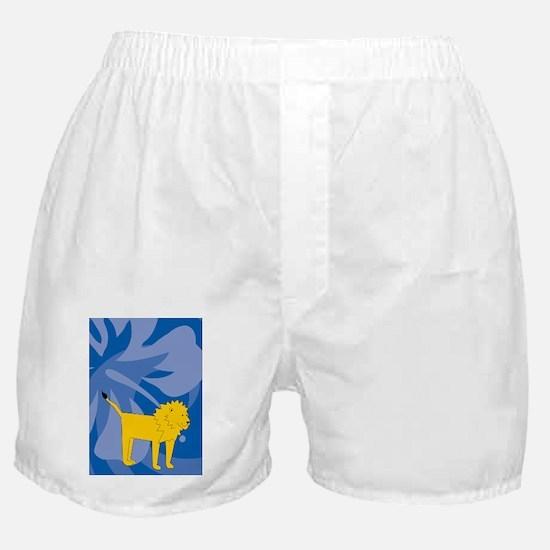 Lion 84 Curtains Boxer Shorts