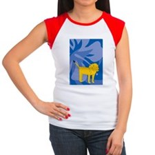 Lion 84 Curtains Women's Cap Sleeve T-Shirt