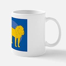Lion Car Flag Mug