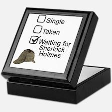 Waiting for Sherlock Keepsake Box