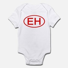 EH Oval (Red) Infant Bodysuit