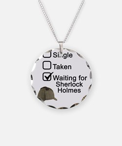 Waiting for Sherlock Necklace