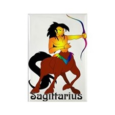 Whimsical Sagittarius Rectangle Magnet
