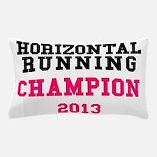 Horizontal Running Champion 2013 Pillow Case