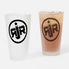 Raleigh Junior Rollers Logo Drinking Glass