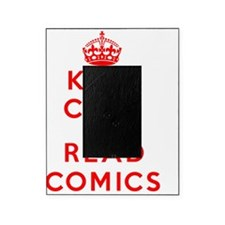 Keep Calm and Read Comics Picture Frame
