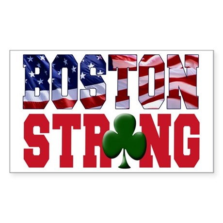 Boston Strong Sticker (Rectangle)