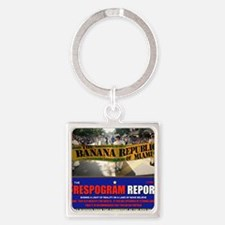 THE CRESPOGRAM STORE Square Keychain
