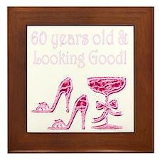 60 AND SENSATIONAL Framed Tile