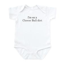 Cheese Ball diet Infant Bodysuit