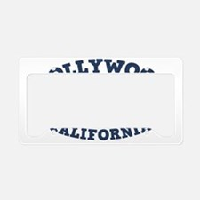 souv-whale-holly-CAP License Plate Holder