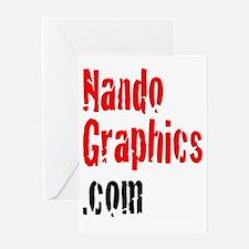 Nando Graphics T-Shirt Greeting Card