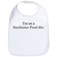 Sardinian Food diet Bib