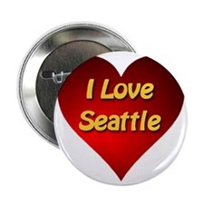 "I Love Seattle 2.25"" Button"