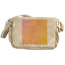 Pink Orange Green Gradient Flip Flop Messenger Bag