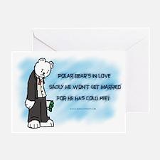 Polar Haiku Greeting Card