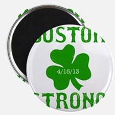 Boston Strong - Green Magnet