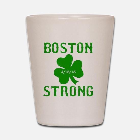 Boston Strong - Green Shot Glass