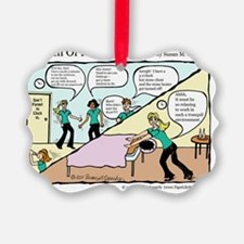 A Touch of Humor Behind the Scene Ornament