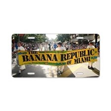 Banana republic Aluminum License Plate