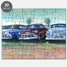 Three old friends Puzzle