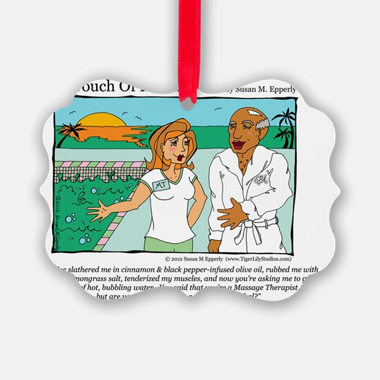 A Touch of Humor Cannibal Comic Ornament