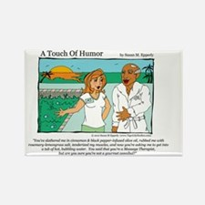 A Touch of Humor Cannibal Comic Rectangle Magnet