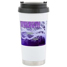 Strenght Comes From Wit Travel Mug