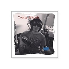 "Young Stench Square Sticker 3"" x 3"""