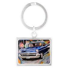 57 Chevrolet Bel Air Landscape Keychain
