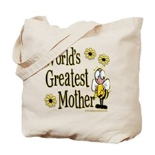 Mother Bumble Bee Tote Bag