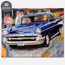 57 Chevrolet Bel Air Puzzle