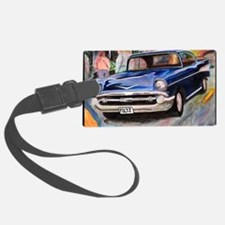 57 Chevrolet Bel Air Large Luggage Tag