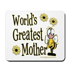 Mother Bumble Bee Mousepad