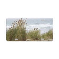 wind-in-the-grasses-horiz-l Aluminum License Plate