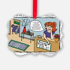 A Touch of Humor Reiki Energy Wor Ornament