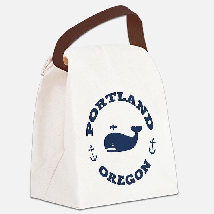 souv-whale-port-ore-LTT Canvas Lunch Bag