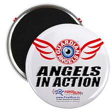 Angels In Action - Color Logo Magnet
