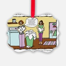 A Touch of Humor Massage Laundry  Ornament