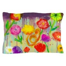 Vivid Poppies Pillow Case